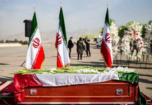 مراسم تشییع پیکرهای پاک جانباختگان منا در تهران