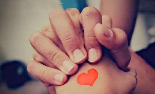 عشق ، قلب ، دستای همسران