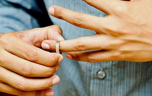 مردان طلاق می شکنند