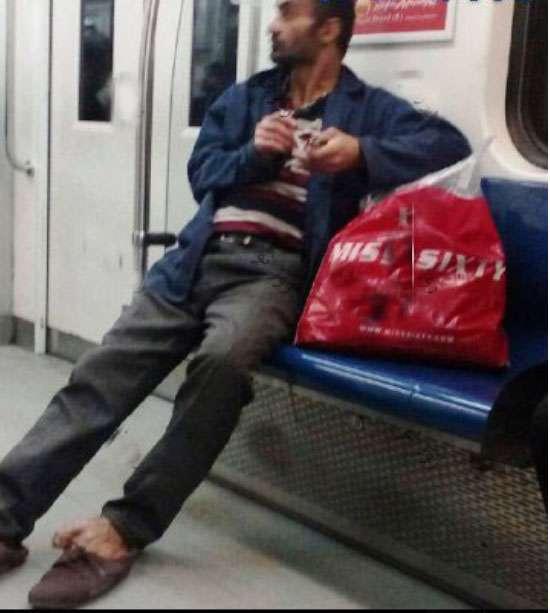 حواشی گسترده انتشار عکس جنجالی در مترو