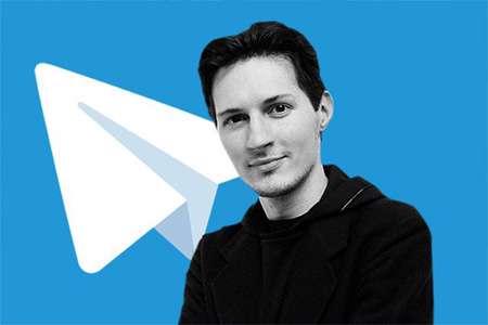 سازنده تلگرام