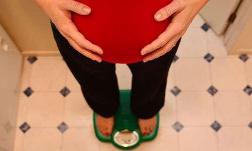 وزن گیری مناسب در دوران بارداری (1)