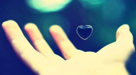 قلب ، درونگرا، عشق