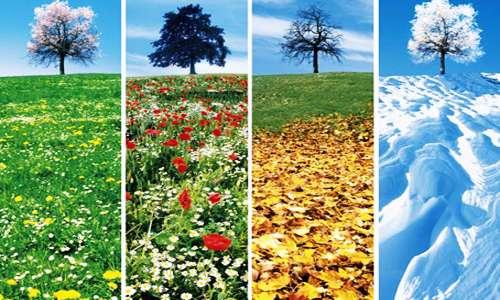 چهار فصل سال