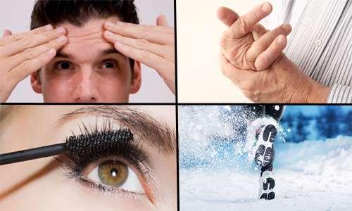 درد آرتروز ، موی چرب، خوبی زمستان و بدی آرایش