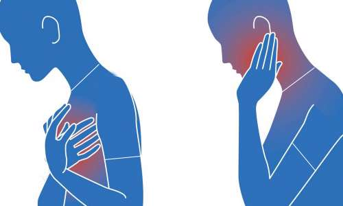درد فک و سکته قلبی زنان