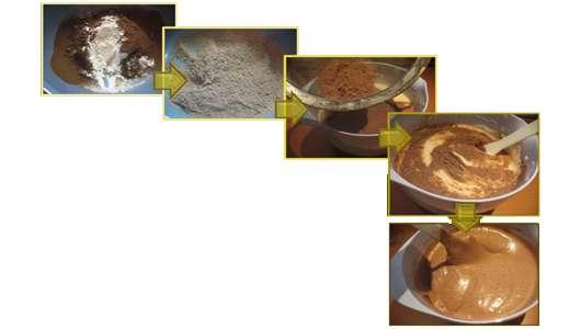 کیک کاکائویی با شکلات