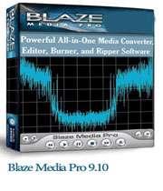 دانلود نرم افزار ویرایش صوت و فیلم  blaze.media.pro.9.10