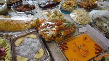 غذاهای رنگین