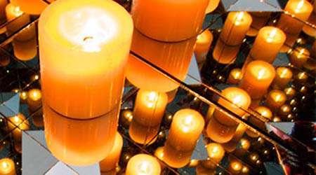 خطای دید با شمع