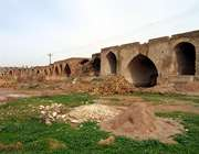 самая старая мост-плотина в мире
