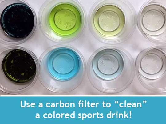 بررسی کارآیی فیلترهای کربنی در تصفیه ی آب