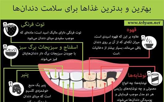 اینفوگرافی دندان