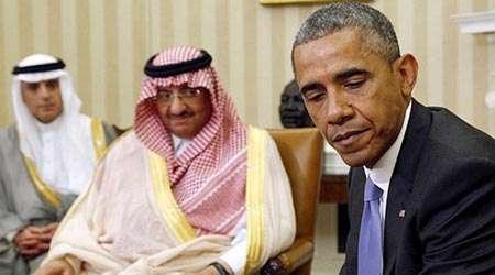 اوباما و ریاض