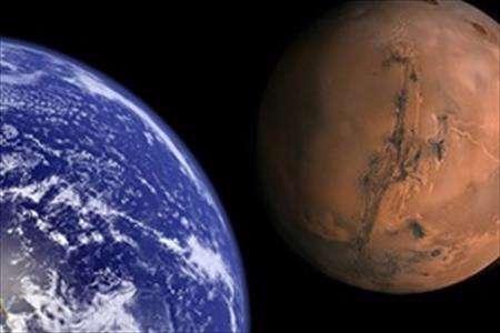 مریخ و زمین