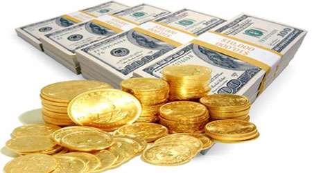 قیمت طلا، قیمت سکه، ارز، دلار، بازار، سکه