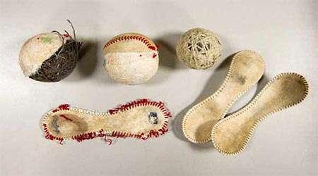 بررسی ساختار توپ بیسبال