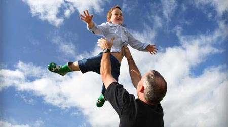 تربیت فرزند، پد و پسر