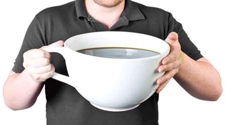 قهوه ی زیاد