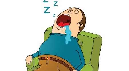 آب دهان در خواب