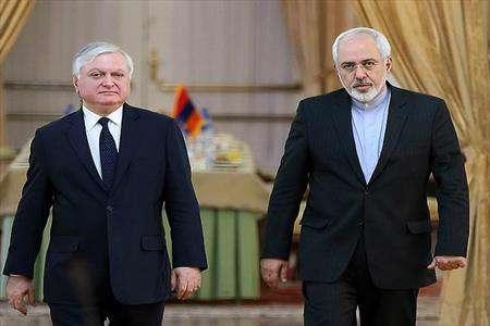 ظریف ، وزیر خارجه ، ارمنستان ، ایران ، ایروان ، محمد جواد ظریف ، بین الملل ، سیاست