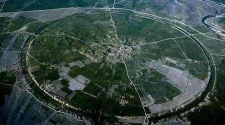 شهر دایره ای ،شهر فیروزاباد