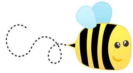 تقلید صدای زنبور!