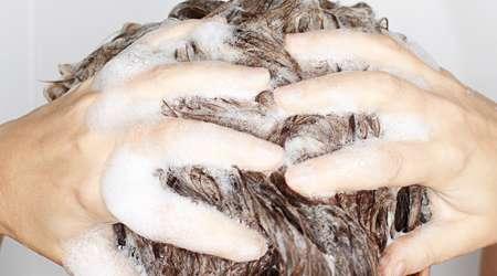 شستن مو