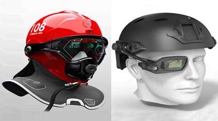 ساخت عینک هوشمند برای کمک به آتش نشان ها