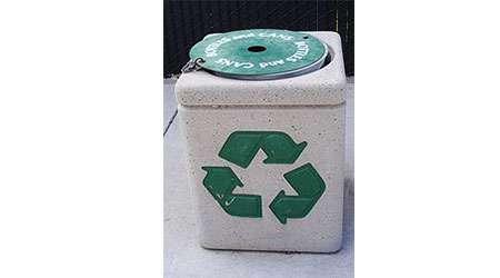 سطل زباله شاد