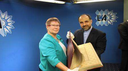 لشرطة الألمانية تسلم المخطوطات القرآنية إلى ايران
