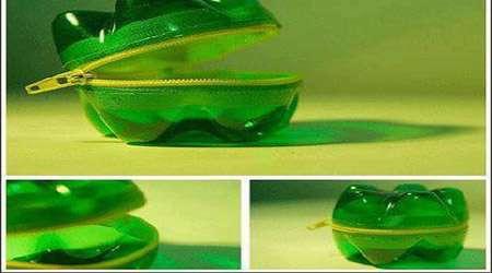 گلدان مغذي گياه ساخته شده از مواد بازيافتي