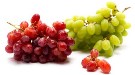 انگور قرمز و سفید