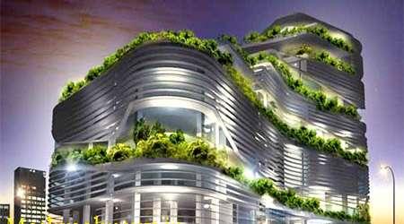 ساختمان هاي سبز