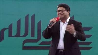 اجرای ترانه شاد عروسی توسط حجت اشرف زاده در خندوانه