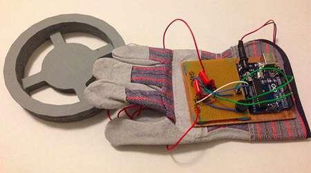 دستکش تشخیص فلزات