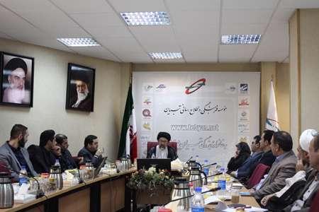 دومین جلسه کارگروه فرهنگی- تبلیغی ستاد اقتصاد مقاومتی استان تهران، صبح امروز به میزبانی موسسه تبیان