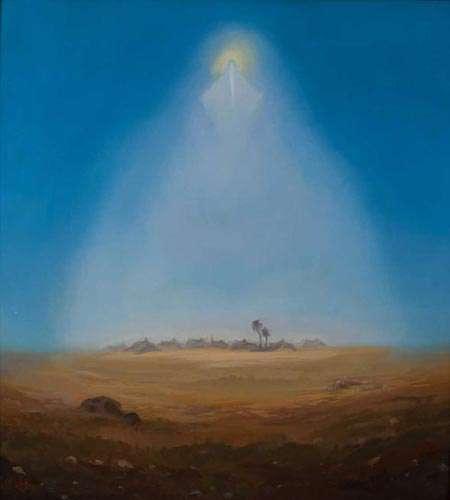 نقاشی عاشورایی قدیریان