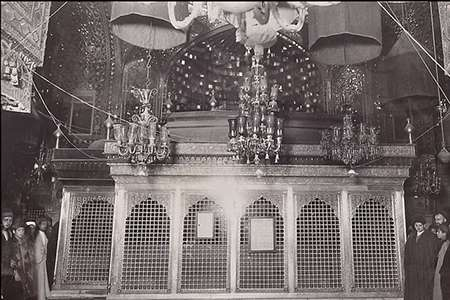 عکس قدیمی حرم امام حسین