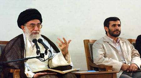 رهبر، احمدی نژاد