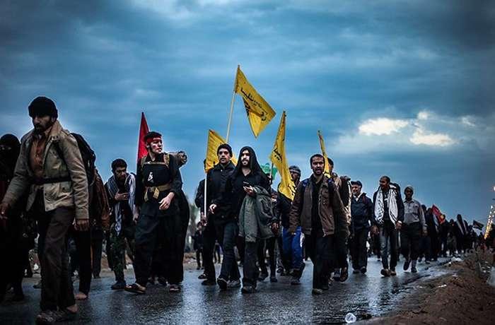 مداحی عربی حسین الاکرف برای پیاده روی اربعین