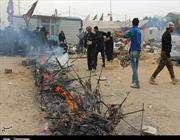غذاء ومبيت وغسل ملابس..ما هي إلا جزء يسير من خدمات العراقيين لزوار الأربعينية