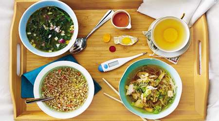 سوپ هاي مفيد براي سرماخوردگي