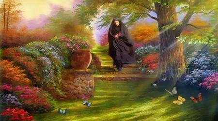 زن در بهشت