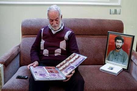 پدر شهید حسن جعفربگلو