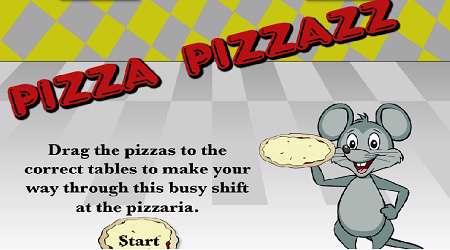 بازی تفریق پیتزا