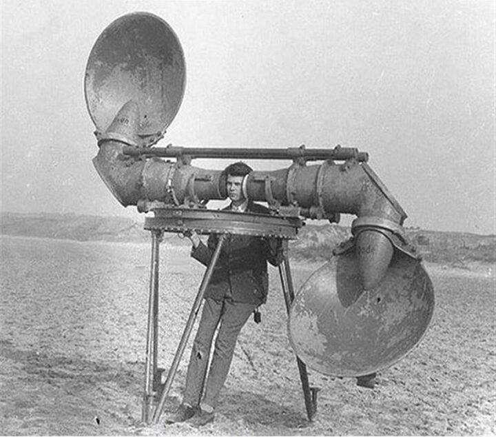 رادار، هواپیما، تاریخی، قدیمی، دشمن، هوایی، اختراع، شنود
