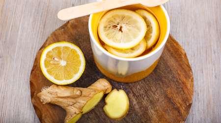 پرتقال و زنجبیل