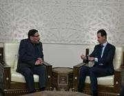 شمخاني يلتقي الرئيس الأسد في دمشق