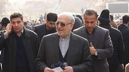 حاشیه های مراسم تشییع پیکر آیت الله هاشمی رفسنجانی